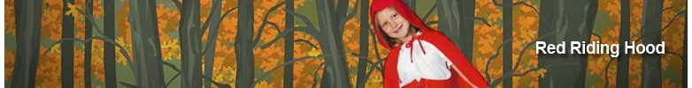 RED RIDING HOOD Girls Costumes