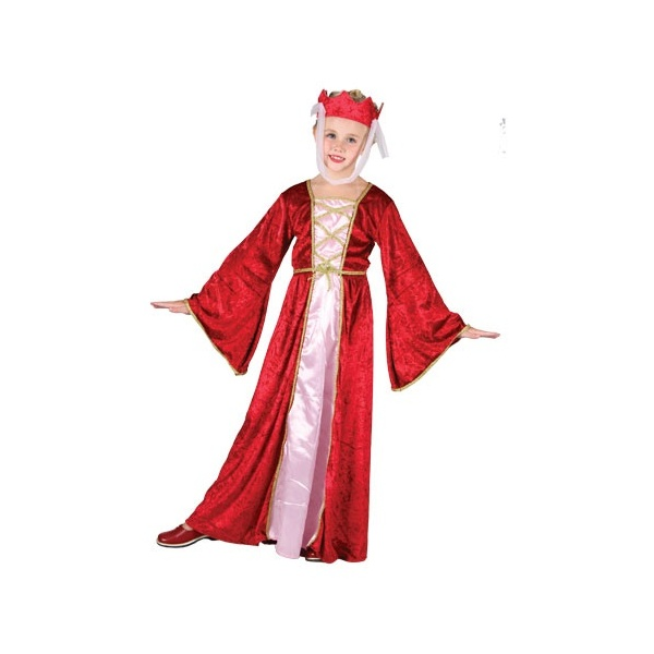 MEDIEVAL-PRINCESS-TUDOR-SCHOOL-HISTORICAL-FANCY-DRESS-GIRLS-COSTUME