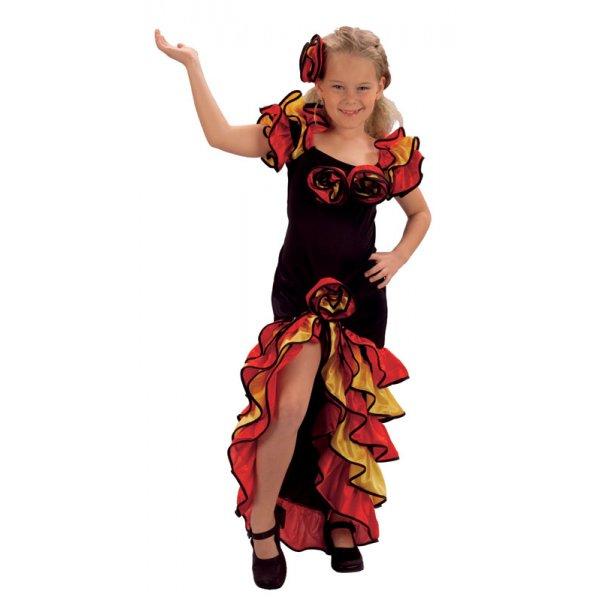 Rumba girl carnival spanish flamenco latino come dancing costume 5