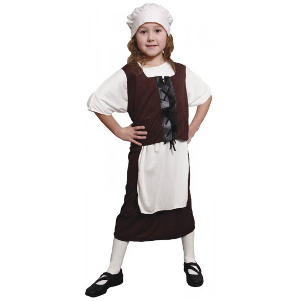 TUDOR-POOR-URCHIN-GIRL-KIDS-COSTUME-MEDIEVAL-WENCH-SIZES-6-12-YEARS-PLUS