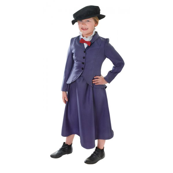 Victorian-Edwardian-Nanny-Mary-Poppins-McPhee-Book-Day-Kids-Fancy-Dress-Costume