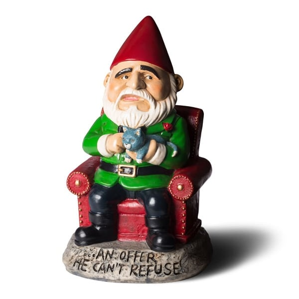 Funny Gnomes: Novelty Naughty Garden Gnomes Outdoor Statues Ornaments