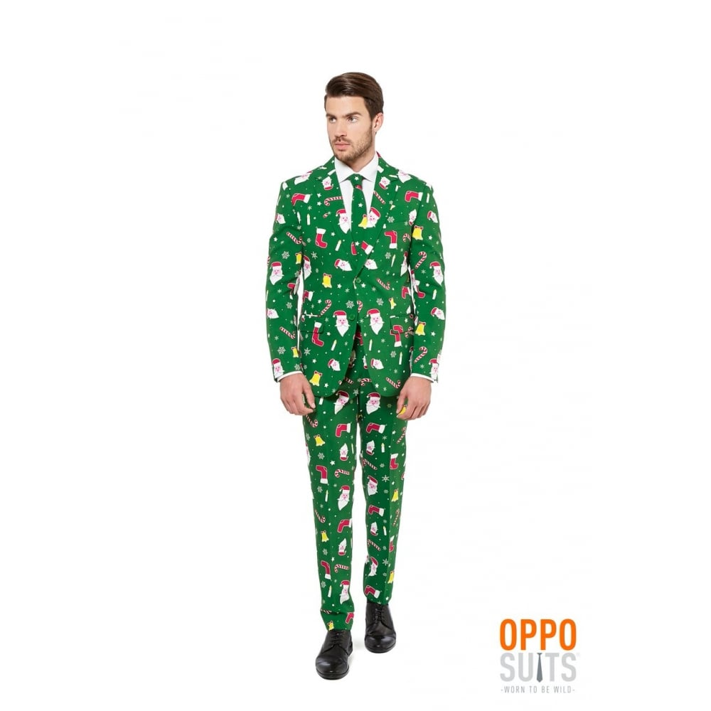 We've got colored and printed camo, money, and weed suits, American Flag suits, short-sleeve crazy suits, NCAA blazers and NFL suits, funny and novelty suits, unique suits, bachelor party suits, Ugly Christmas suits, and more.