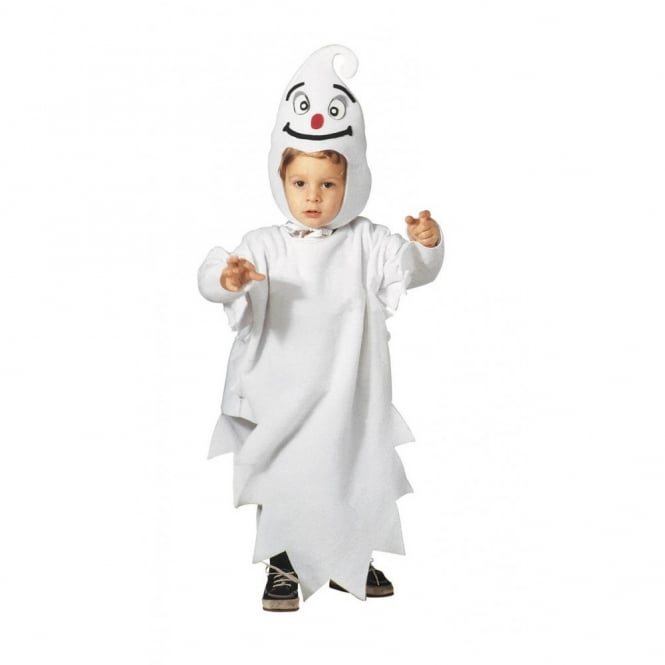 Little Ghost - Toddler Costume (Costume, Headpiece with Mask)
