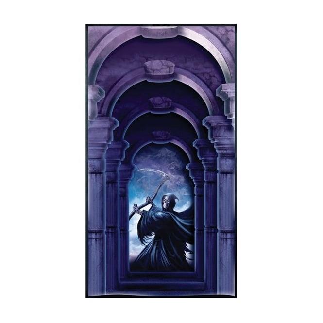 2 x Grim Reaper Door Covers - Halloween Decoration