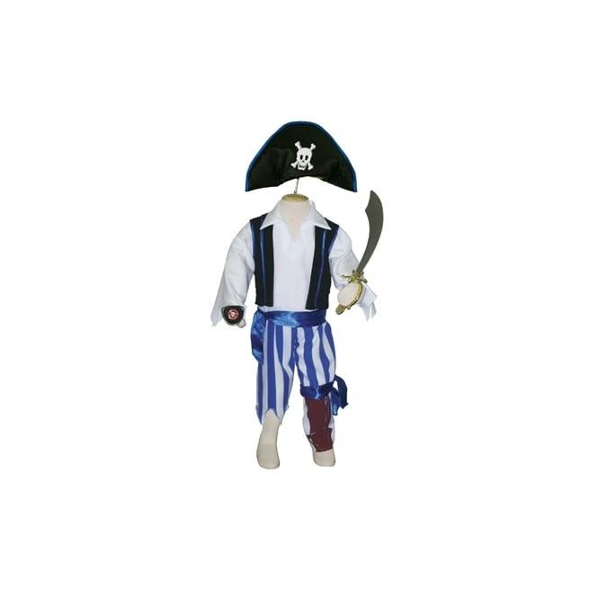 Peg Leg Pirate (Deluxe) - Kids Costume