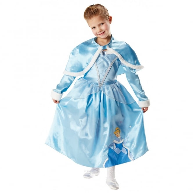 DISNEY PRINCESS ~ Cinderella Deluxe (Winter Wonderland) - Kids Costume