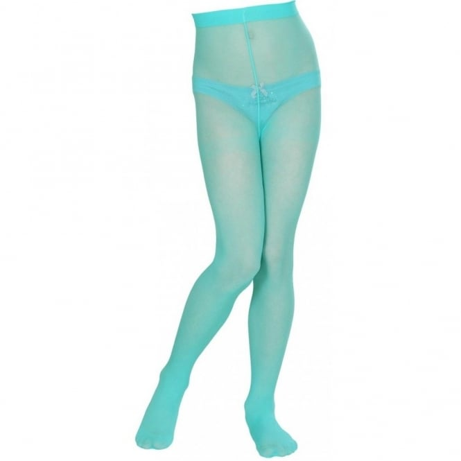 Turquoise Tights - Kids Accessory