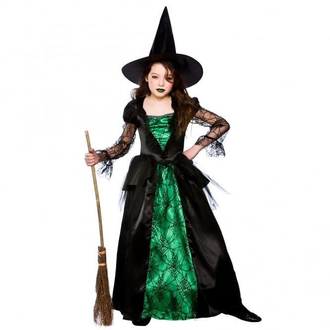 Deluxe Emerald Witch - Kids Costume