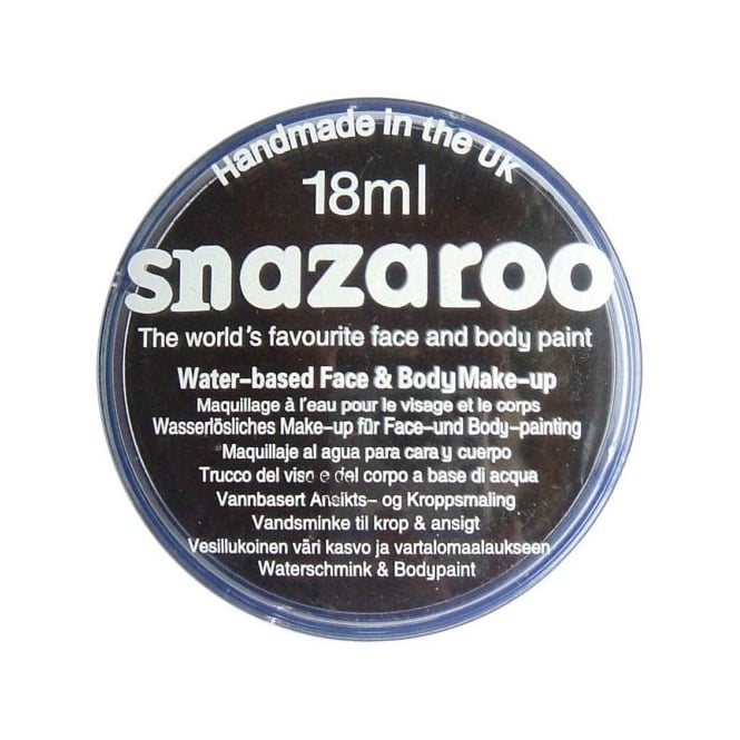 Black Face And Body Paint (Snazaroo™) - Accessory