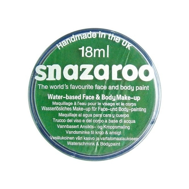 Grass Green Face and Body Paint (Snazaroo™) - Accessory