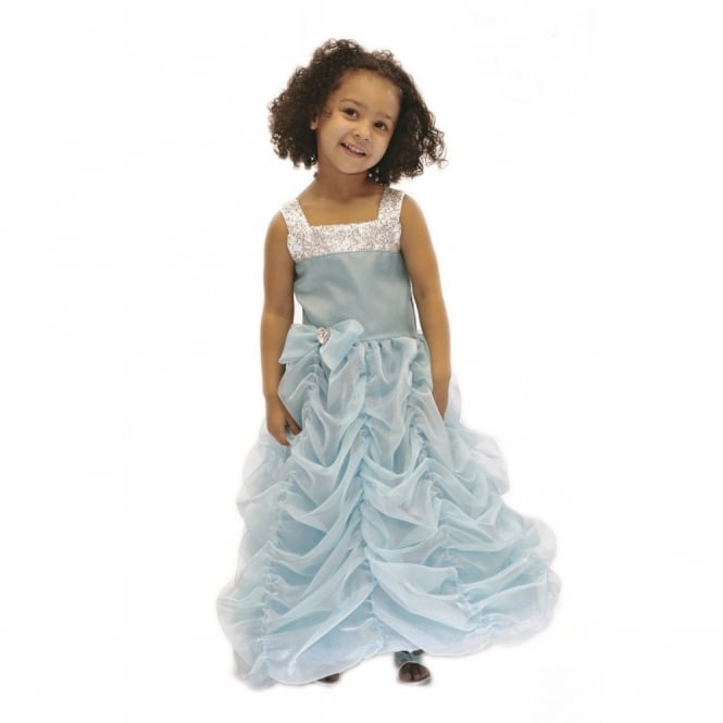 Deluxe Turquoise Princess - Kids Costume