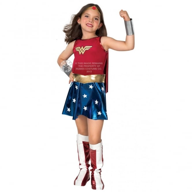 WONDER WOMAN ~ Dress - Kids Costume