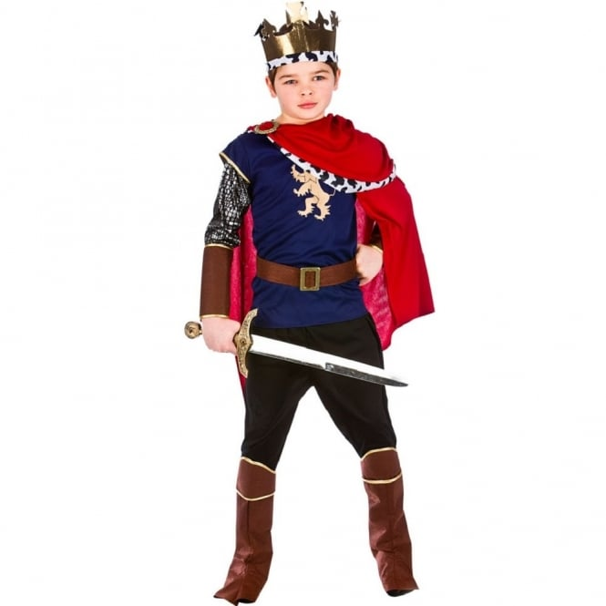 Deluxe Medieval King - Kids Costume