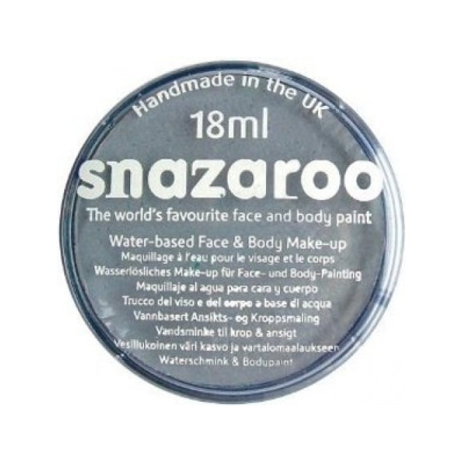Snazaroo Dark Grey Face And Body Paint - Accessory