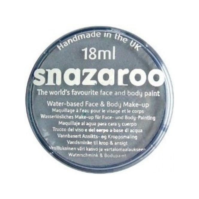 Snazaroo Dark Grey Face And Body Paint - Accessory