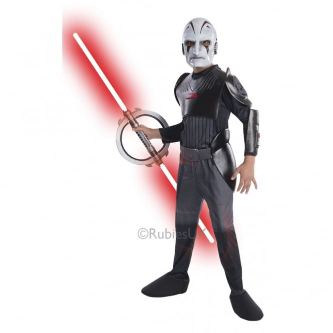 STAR WARS ~ Inquisitor Deluxe - Kids Costume