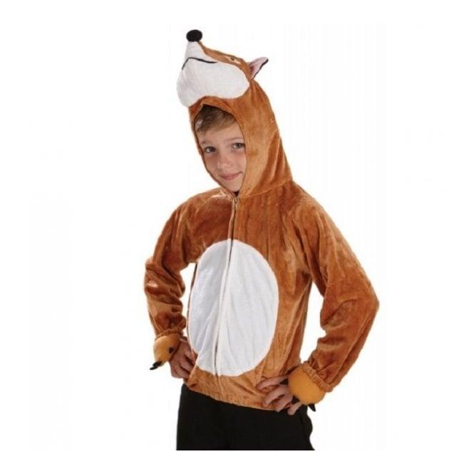 Fox Hooded Top - Kids Costume