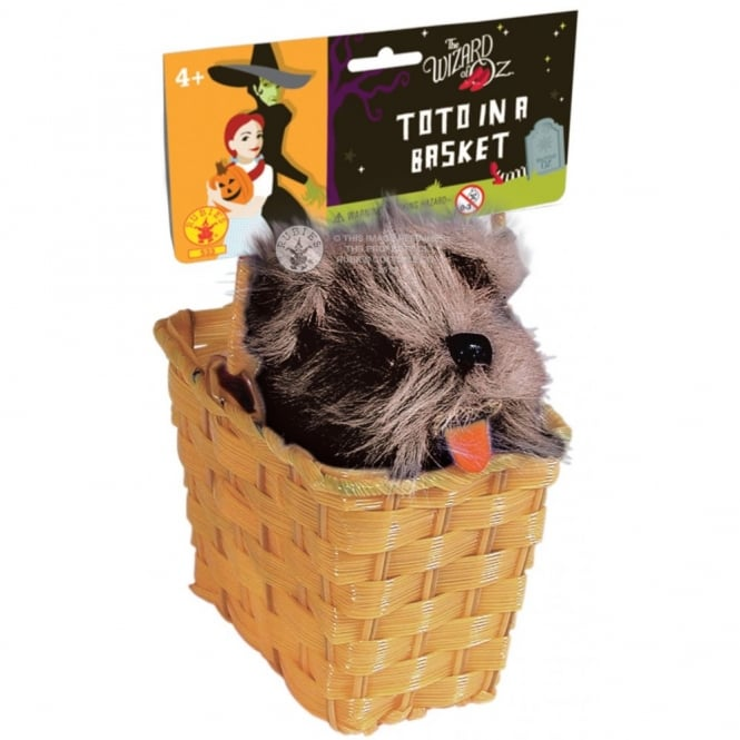 THE WIZARD OF OZ ~ Dorothy Toto In The Basket - Accessory