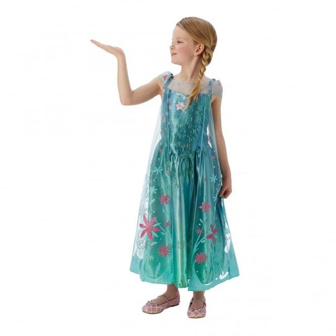 FROZEN (DISNEY) ~ Elsa Deluxe - FROZEN FEVER™ - Kids Costume