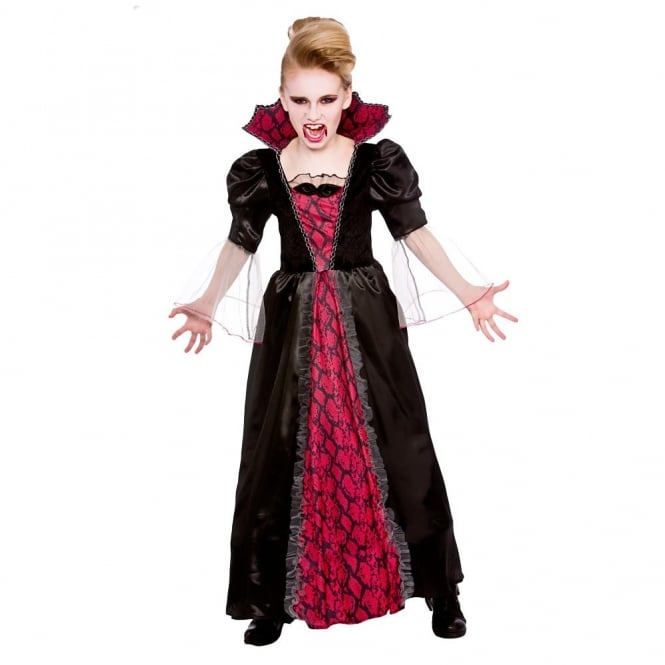 Victorian Vampiress - Kids Costume