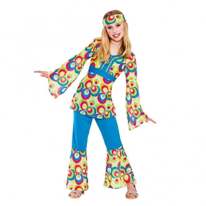 Retro Hippie Girl - Kids Costume