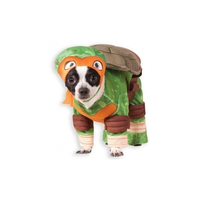 Michelangelo TMNT Dog Costume - Pet Accessory
