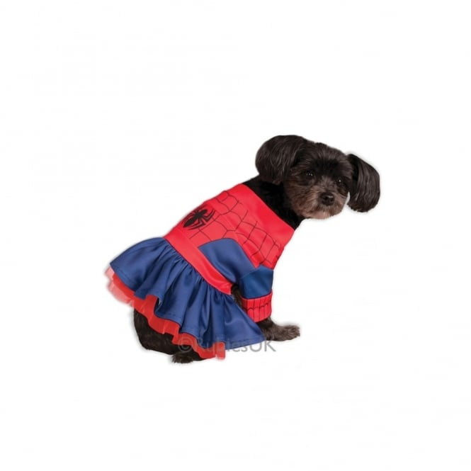 Spider-Girl Dog Costume - Pet Accessory