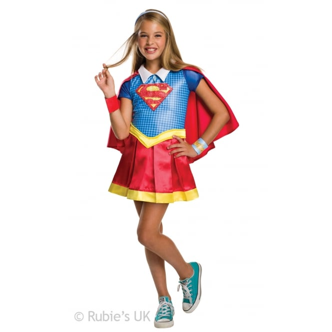 SUPERGIRL ~ Supergirl Deluxe (DC Comics Superhero) - Kids Costume