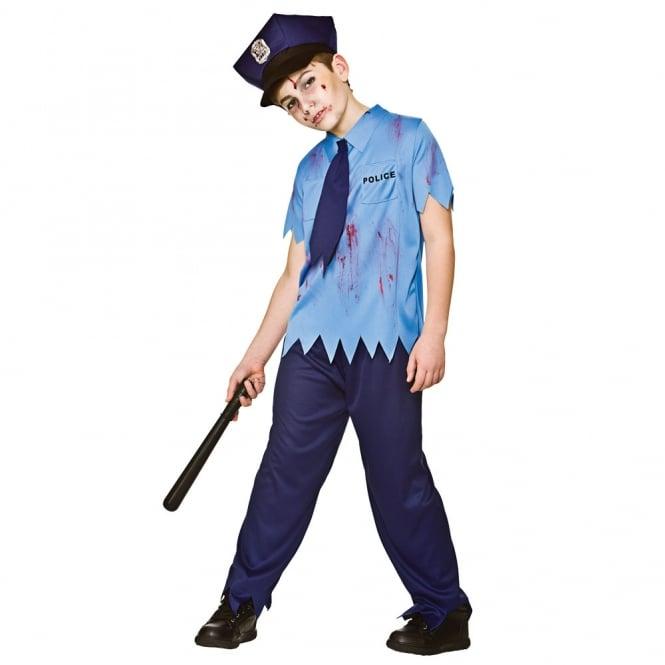 Zombie Cop - Kids Costume