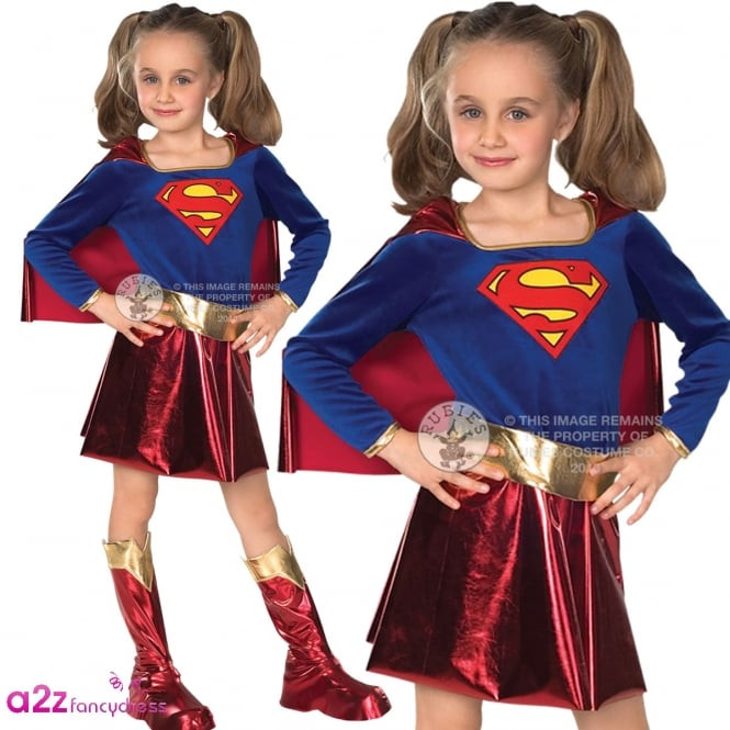 SUPERGIRL ~ (Dress Style) - Kids Costume