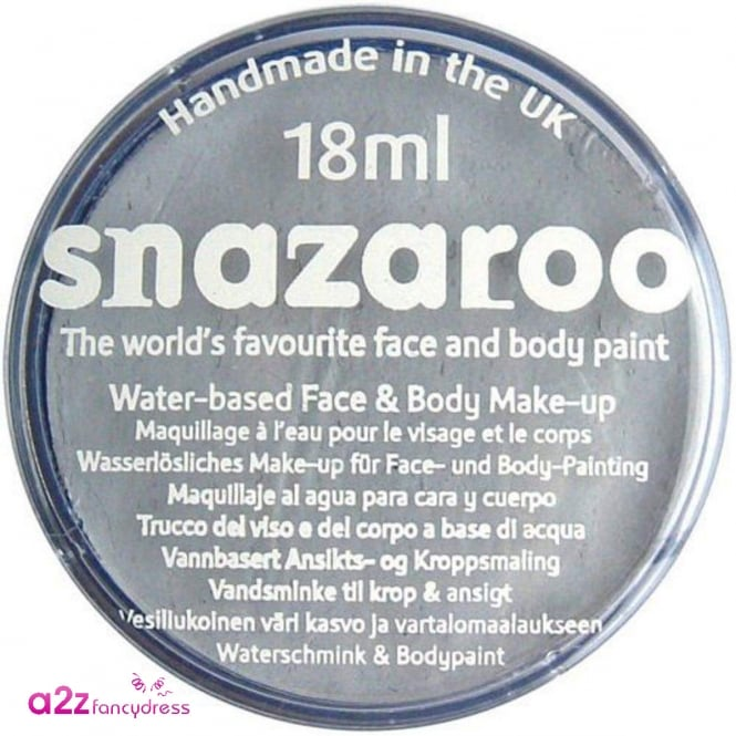 Snazaroo Light Grey Face And Body Paint - Accessory
