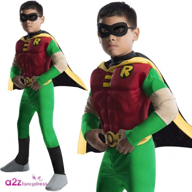 BATMAN ~ Robin (Muscle Chest) - Kids Costume