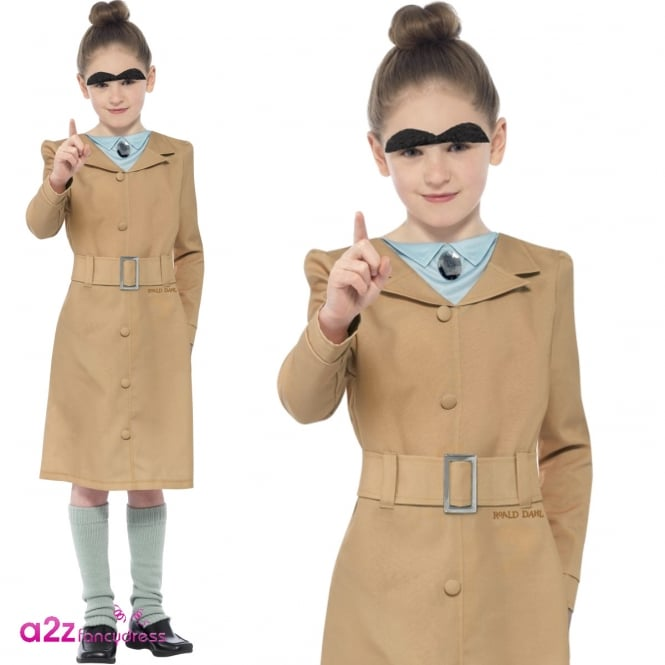 ROALD DAHL ~ Miss Trunchbull - Kids Costume