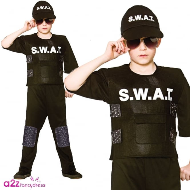 S.W.A.T. Team Commander - Kids Costume
