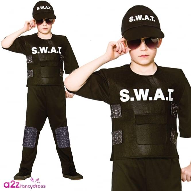 S.W.A.T. Team Commander - Kids Costume