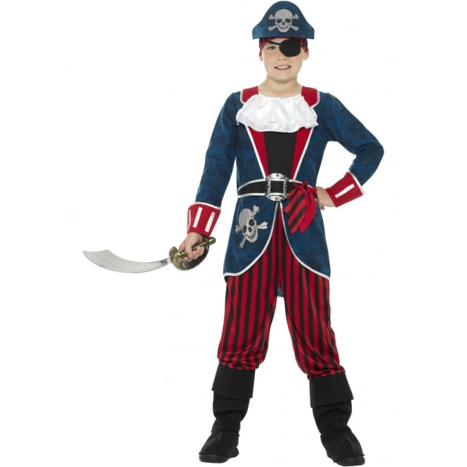 Deluxe Pirate Captain - Kids Costume