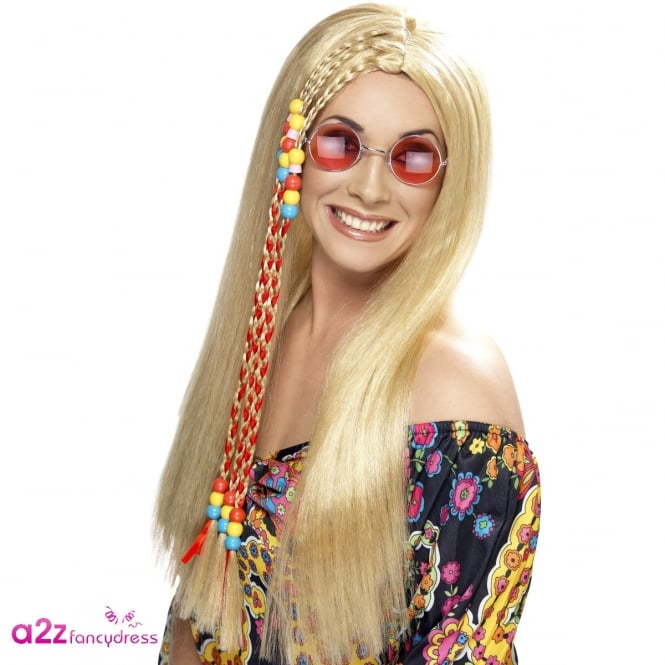 Ladies Hippy Party Wig - Adult Accessory
