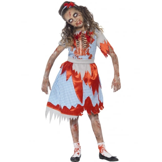 Zombie Country Girl - Kids Costume