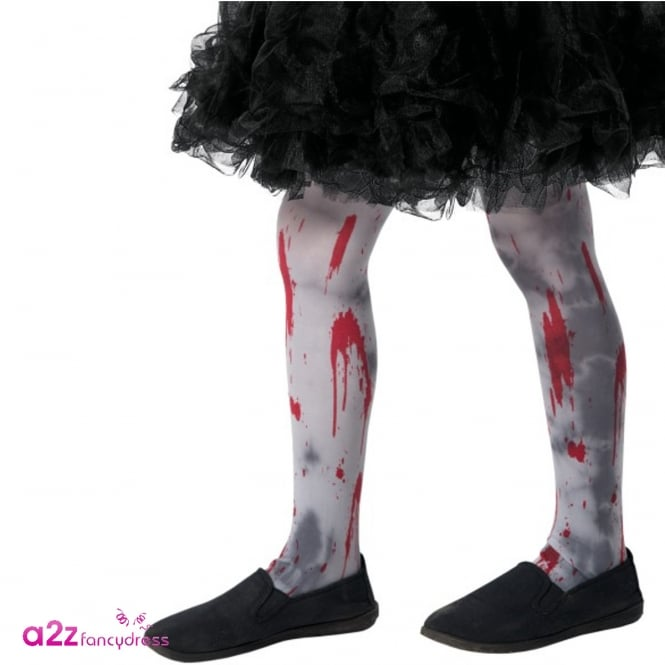 Zombie Dirt Tights - Kids Accessory Age 4-9 Years