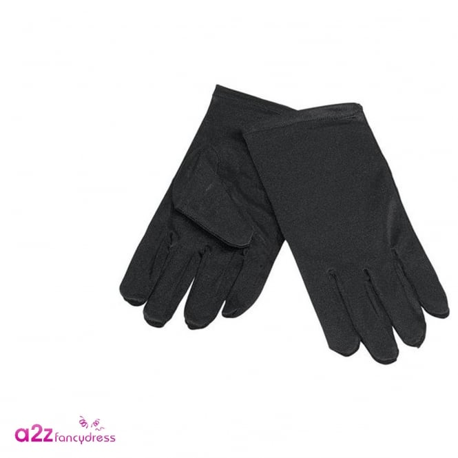Black Gloves - Kids Accessory