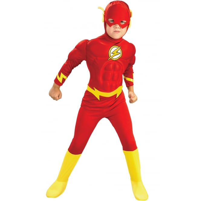 DC COMICS Flash (Muscle Chest) - Kids Costume