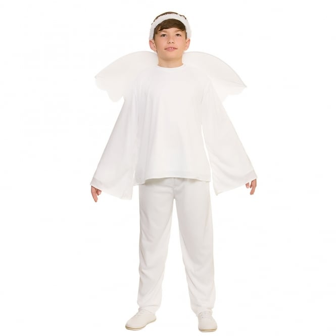 Christmas Angel With Trousers - Kids Costume