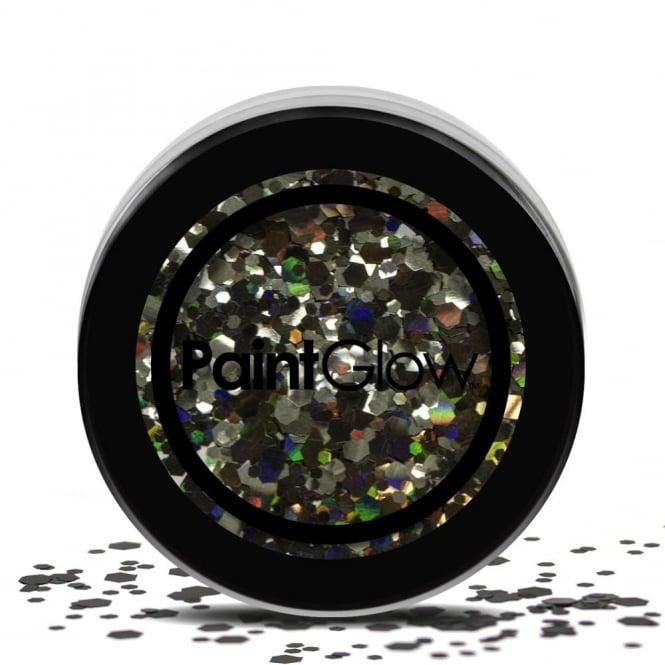 Black Enchantress Chunky Glitter - Make-up Accessory
