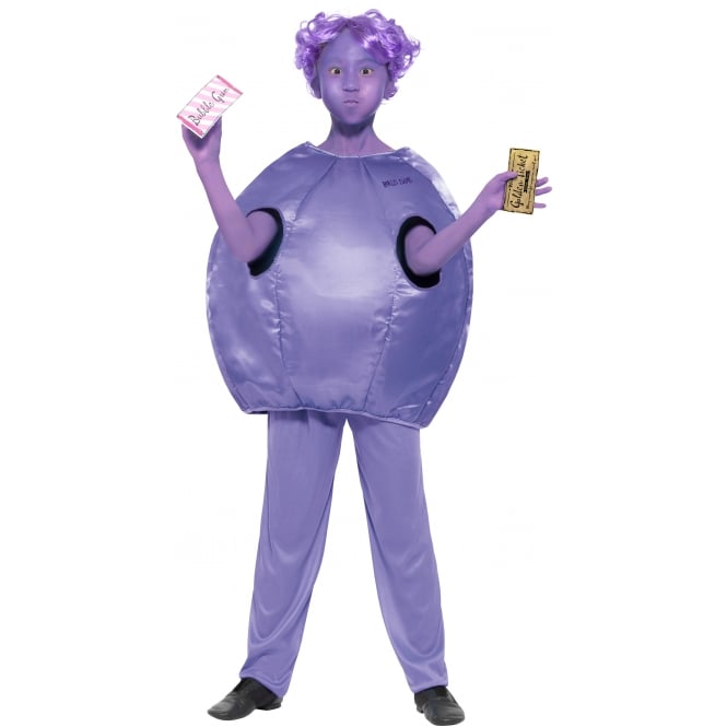 ROALD DAHL ~ Violet Beauregarde - Kids Costume