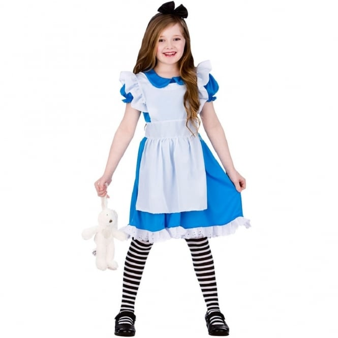 ALICE IN WONDERLAND Classic Storybook Alice - Kids Costume