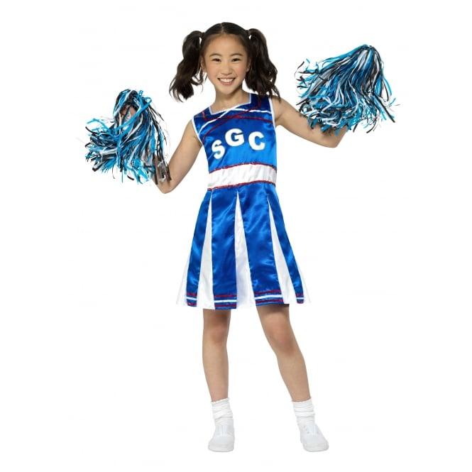 Blue Cheerleader - Kids Costume