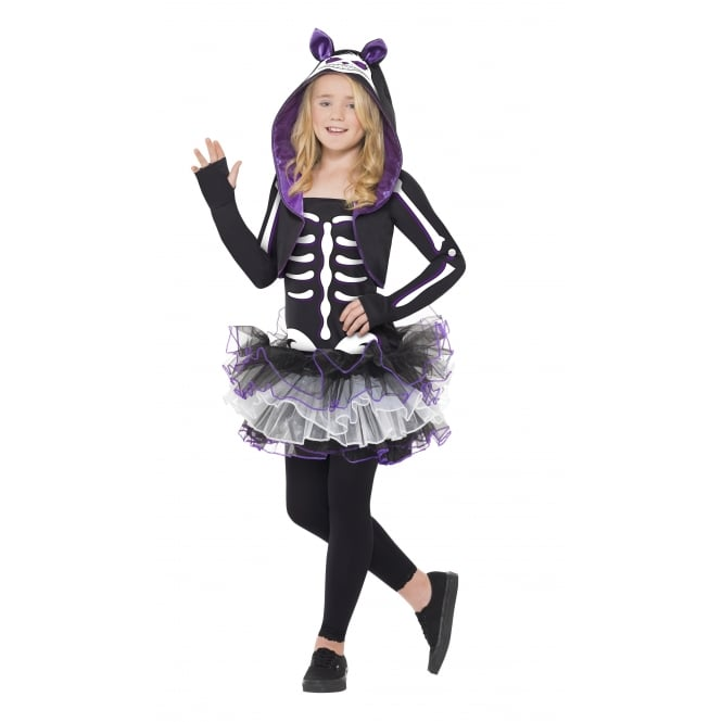 Skelly Cat - Kids Costume