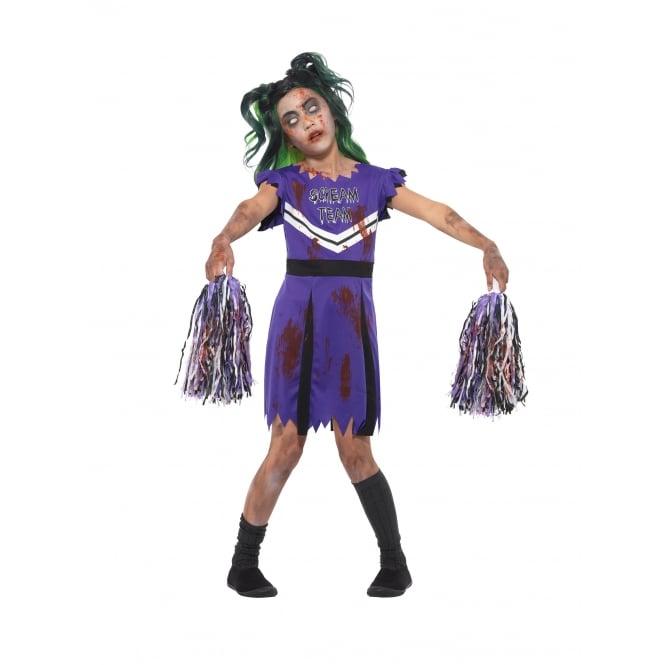 Dark Cheerleader - Kids Costume