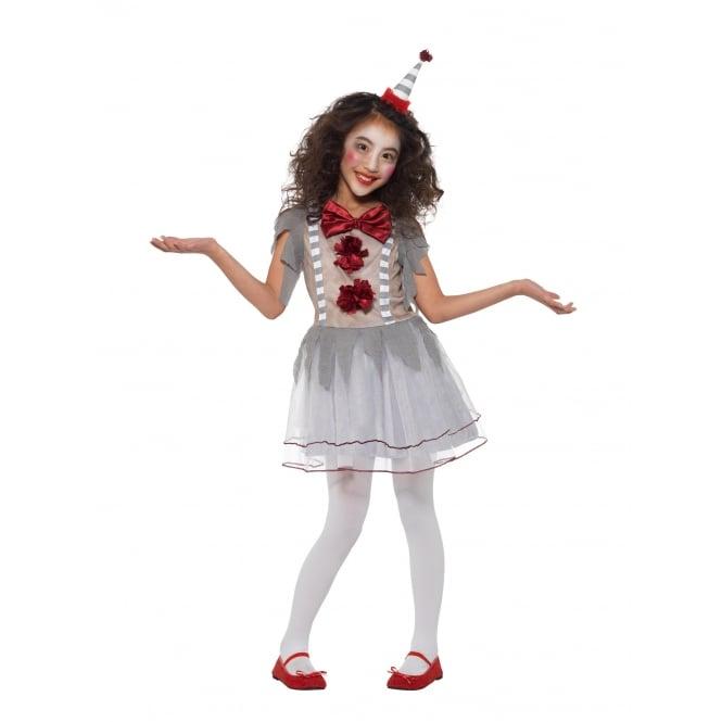 GIRLS Vintage Clown Girl - Kids Costume